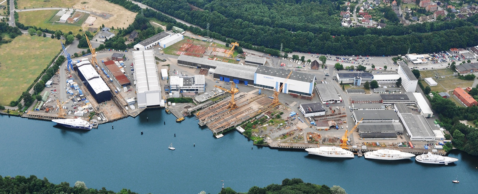 Nobiskrug - German Shipyard - Overview