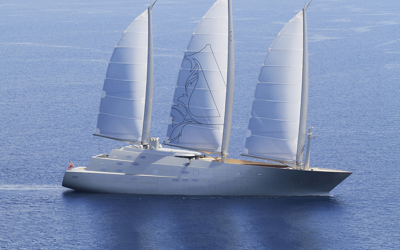 Nobiskrug - SAILING YACHT A - The largest sailing yacht ever built