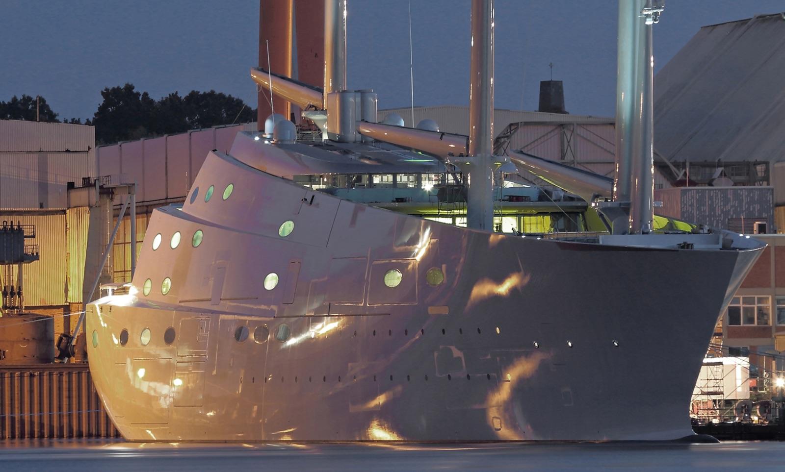 Nobiskrug Shipyard Sailing Yacht A Luxury Sailing Yachts