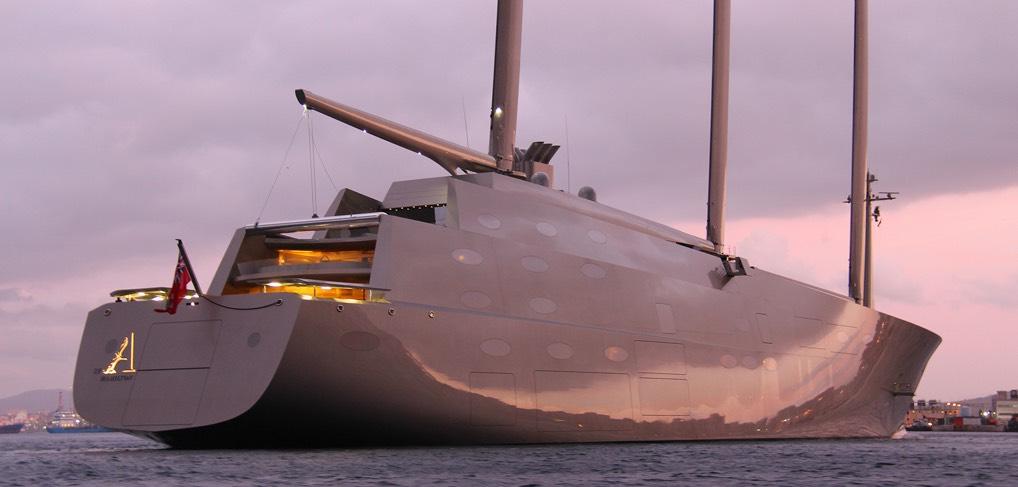 Nobiskrug Shipyard |SAILING YACHT A|Luxury Sailing Yachts