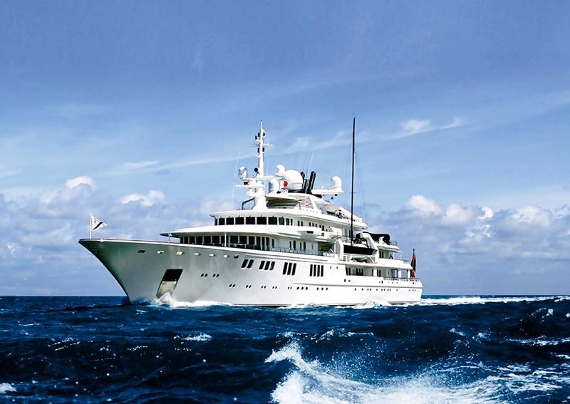 Evolution of innovation nobiskrug superyachts - Otto swimmingpool ...
